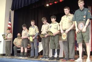 Boy Scout's Awards