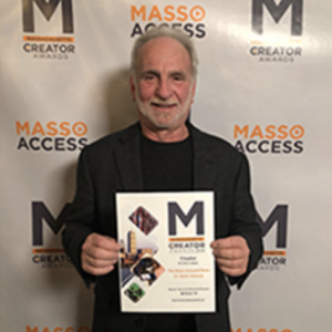 Richard Rosen with award