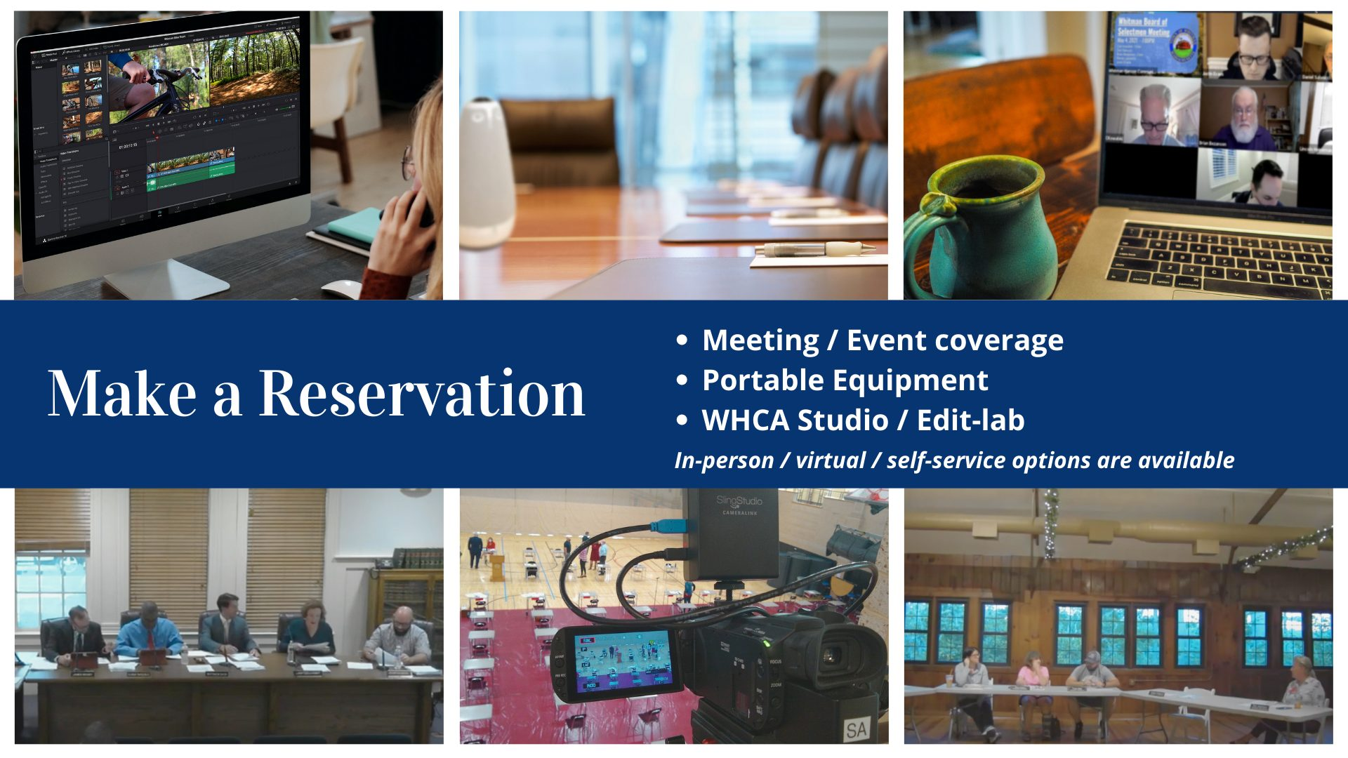 Click here to make a WHCA reservation.